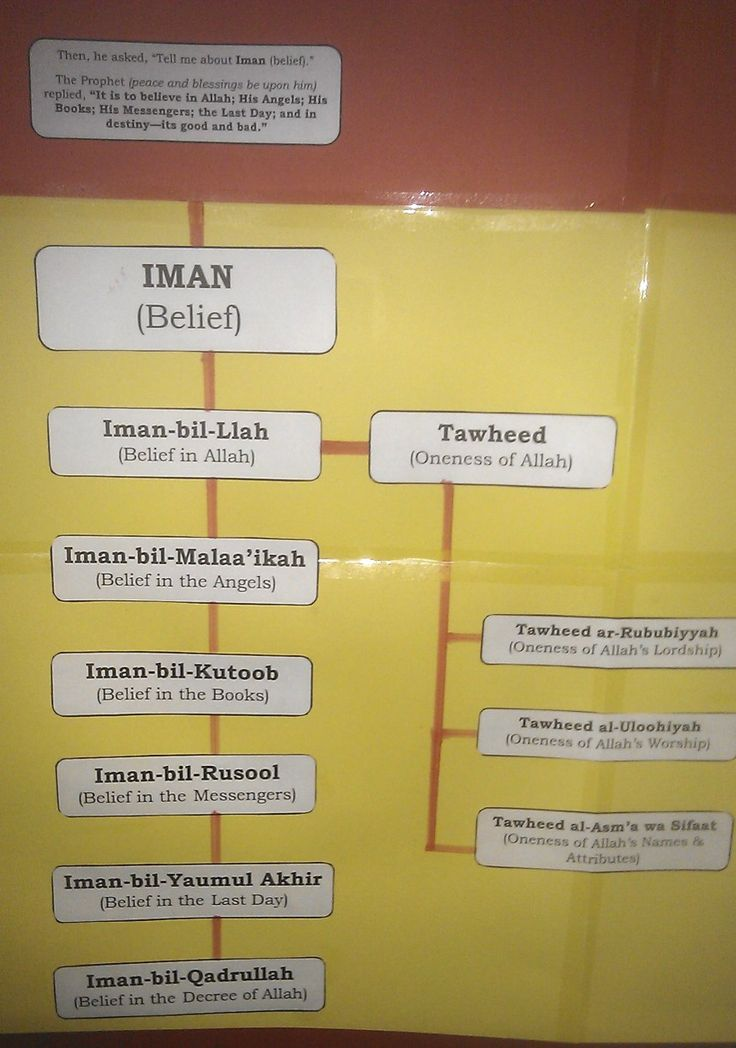 Islamic Studies Plan Poster « Iman's Home-School