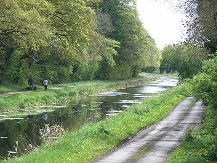 Royal canal. mullingar, Ireland