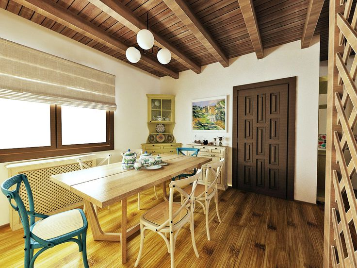 Traditional house - dining