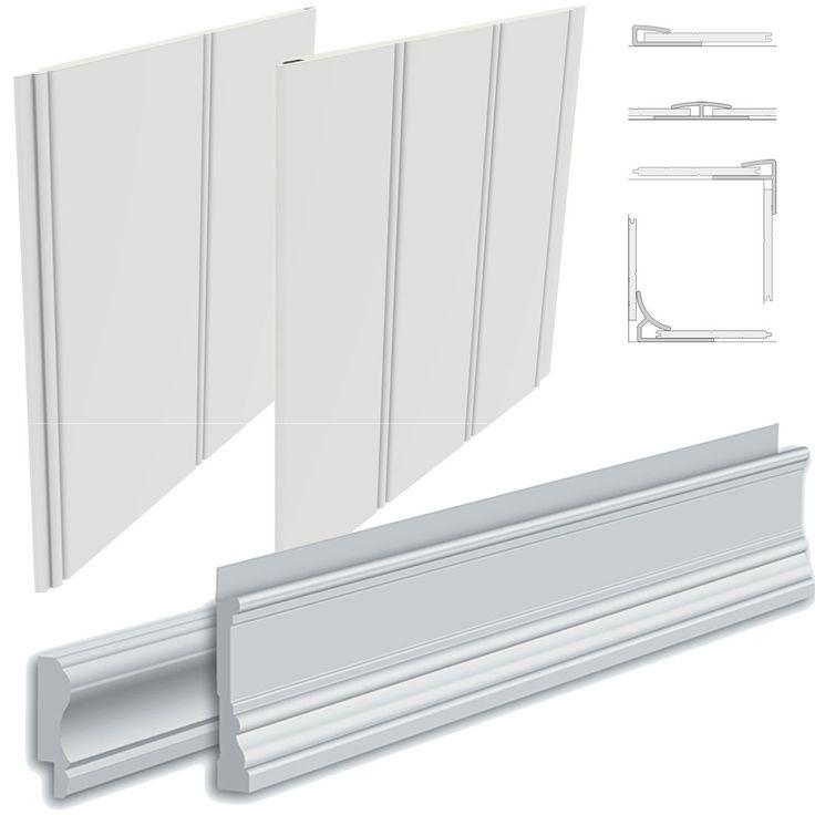 PVC Beadboard Plank & Moulding Sample Kit