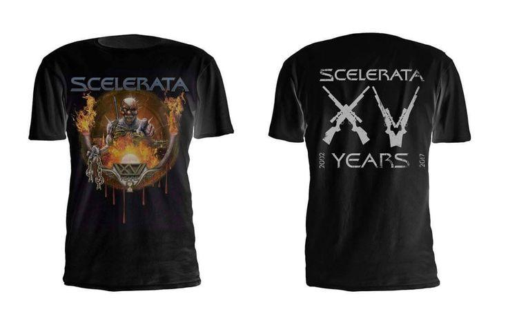 A estampa comemorativa dos 15 anos de carreira de um dos nomes mais queridos do Power Metal já está disponível. Estamos falando do gaúcho SCELERATA, formação que vem desde 2002 representando o nome…