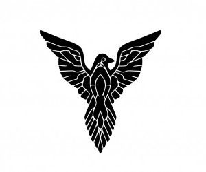 23 best tattoo raven images on pinterest crows ravens for Freedom tribal tattoos