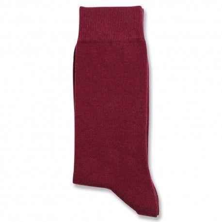 Democratique Socks Originals Solid Bordeaux - DEMOCRATIQUE UNDERWEAR
