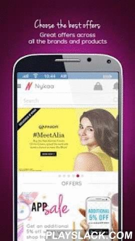 Nykaa - Beauty Shopping App  Android App - playslack.com ,  Nykaa is a premier online beauty and wellness destination. Nykaa offers a comprehensive selection of makeup, skincare, hair care, fragrances, bath and body and luxury products for women and men at the best prices. All products are 100% authentic, sourced directly from the brands or authorized distributors. Visit Nykaa for a hassle-free shopping experience, the virtual makeover tool, beauty advice and assistance on the phone, free…