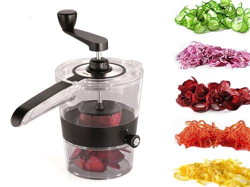 Κόφτης Λαχανικών και Φρούτων Spiral Slicer SpiralFix Για Τέλειο Γαρνίρισμα