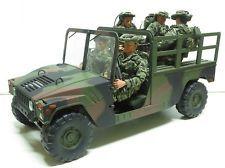"Want, yes I want! : 21st Century Hummer & 5 Hasbro GI Joe 12"" Military Action Figures"