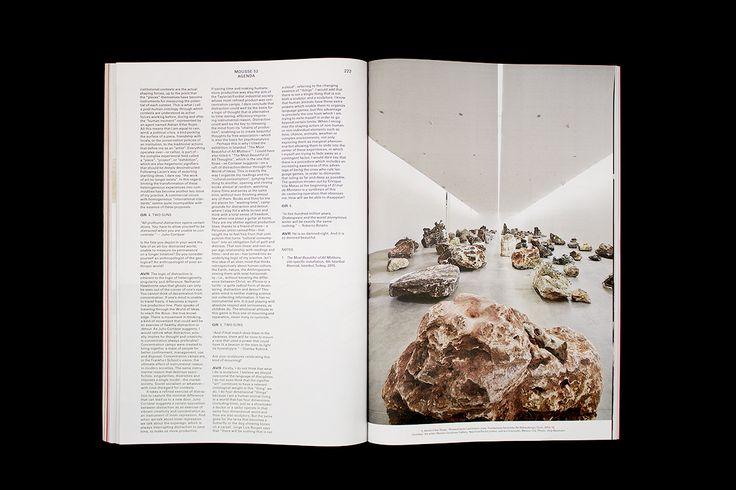 Mousse Magazine #52 ~ #adrianvillarrojas #fondazionesandrettorerebaudengo #gianluigiricuperati #agenda #turin #moussemagazine