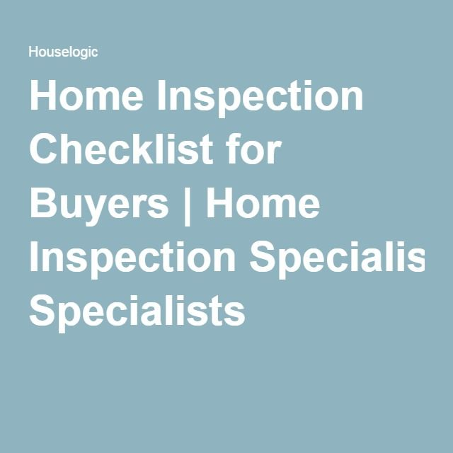 114 Best Home Inspections Images On Pinterest | Home Inspection