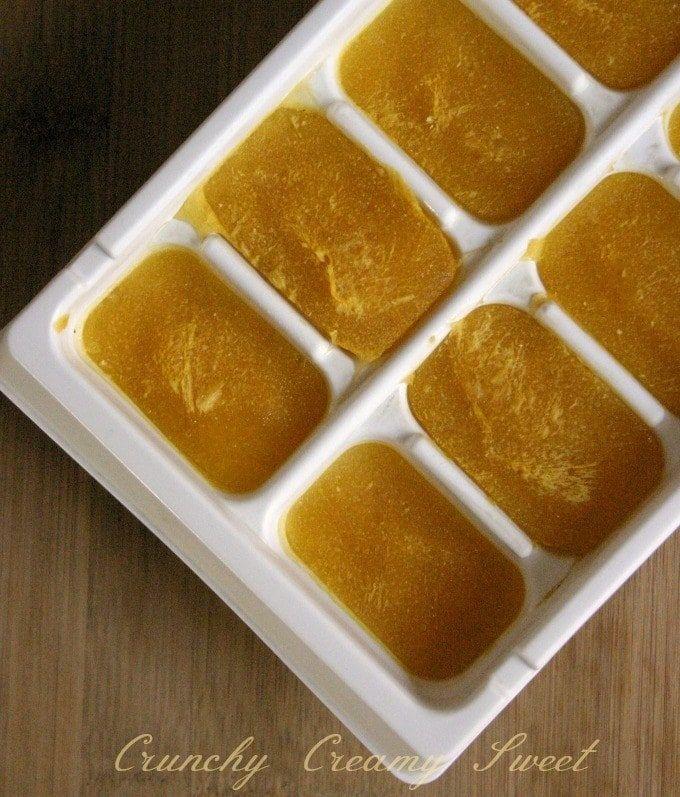 O purê de abóbora também é cheio de vitamina A e fibras, então essa é uma ótima receita para incluir nas refeições das crianças.