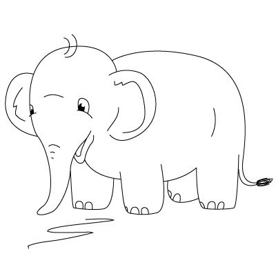 17 Best images about Drawing animals on Pinterest | An elephant ...