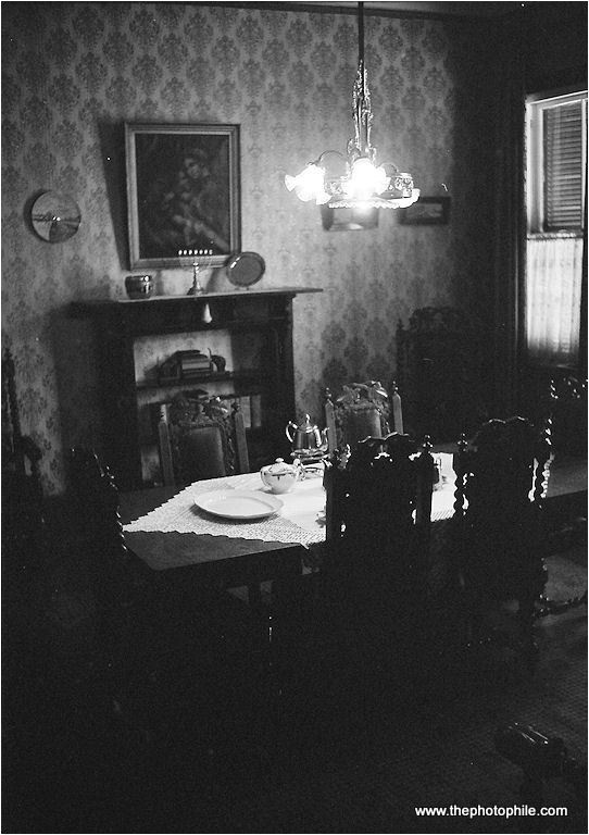 Dining room at Totius House, Potchefstroom, South Africa