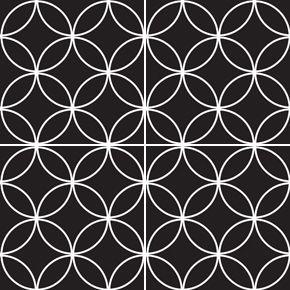 circles   black & white collection   imagine tile