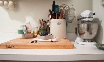 If you bake on a regular basis, go ahead: Set up a workstation right on top of the countertop.