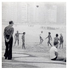 A voyeuristic masterclass given by Carlos Drummond de Andrade down by Copacabana beach.