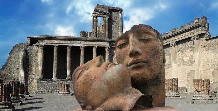Igor Mitoraj a Pompei: realtà frammentarie e interrotte protagoniste di un dialogo serrato