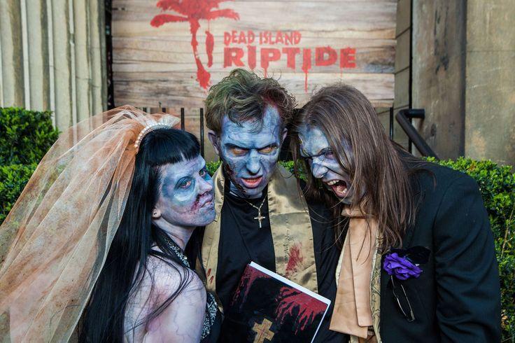 Zombie themed wedding.