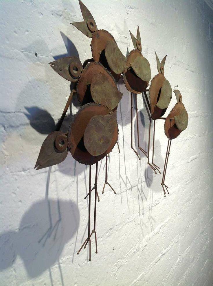 Birds Sculpture By Curtis Jere C Jere Bird Sculpture