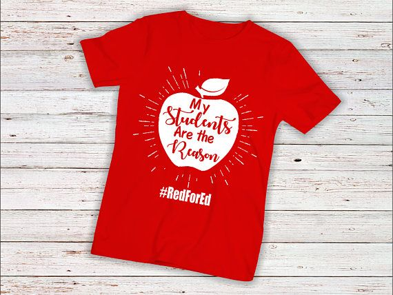 6cb48d45 Red for ed shirt, red for ed arizona, redfored, red for ed, arizona teacher  shirt, red for ed, suppo | Products | Teacher shirts, Shirts, School shirts