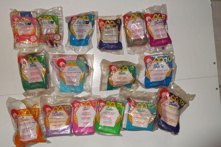 McDonalds Happy meal toys lot  Set 1-16 #Barbie 2000 NEW #McDonalds #happymeals @ebay