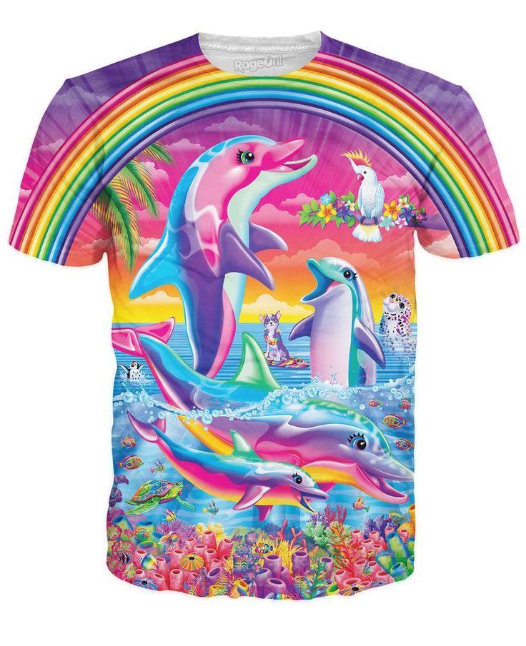 Lisa Frank Dolphins T-Shirt | $24.99