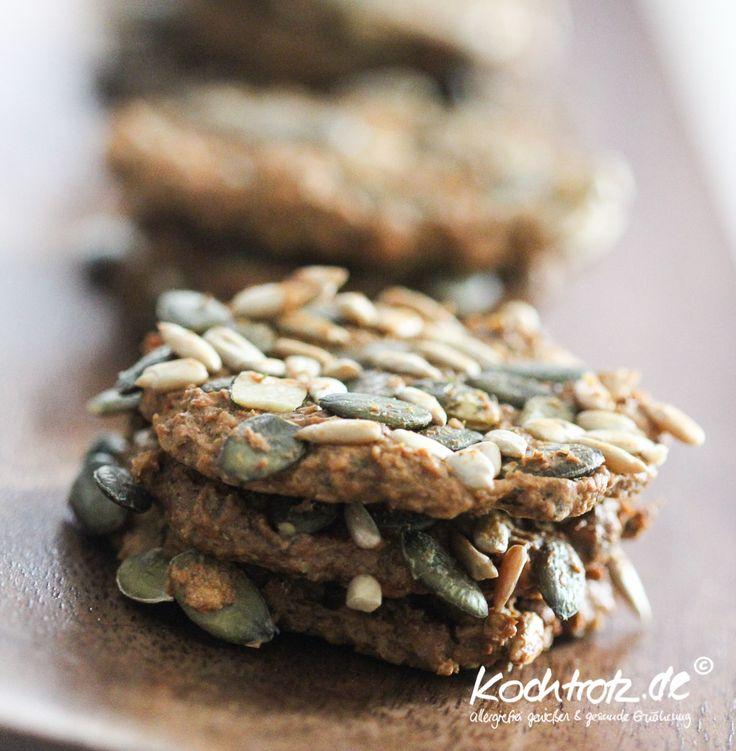 Low-Carb-Cracker herzhaft, mehlfrei und vegan