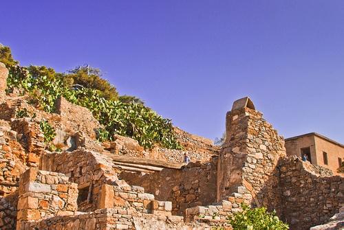 Spinalonga ruins, Crete  by Iain Mallory