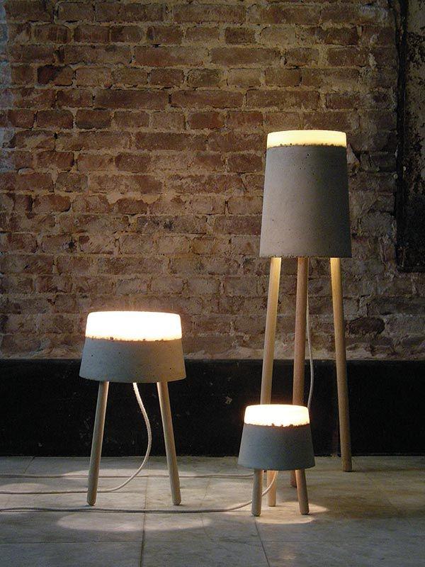 Best 25+ Concrete lamp ideas on Pinterest