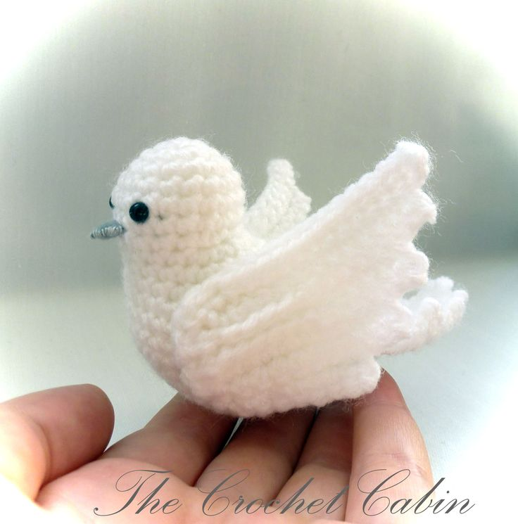 Crochet Dove Hekel Pinterest Crochet