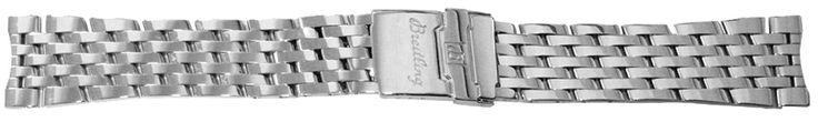 Breitling Navitimer Montbrillant Bracelet 422A / 444A: 422A / 444A NEW BREITLING NAVITIMER MONTBRILLANT 20/18MM STEEL… #authenticwatches
