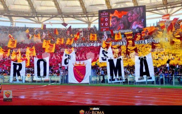 Roma - Lazio, la magia di un derby dipinto #roma #asroma #derby #lazio #calcio #sud