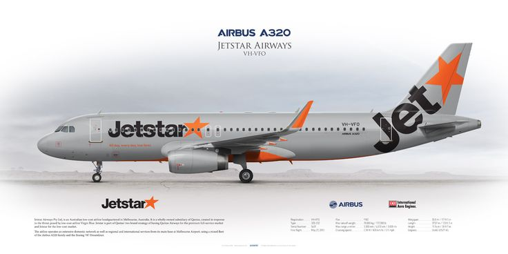 https://flic.kr/p/M2a78o | Airbus A320 Jetstar Airways VH-VFO | www.aviaposter.com