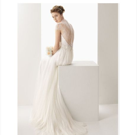 Free shipping new arrival 2104 quality wedding formal dress fashion slim lace wedding dress