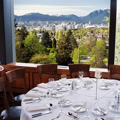 Seasons Restaurant Vancouver BC .... awesome view.