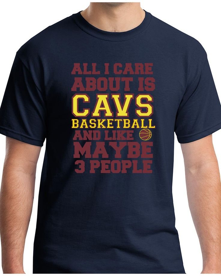 If all you care about are the Cavaliers and three other people, let everyone know it! Description: •5.3-ounce, 100% cotton (preshrunk) •Double-needle sleeves and hem •Taped neck and shoulders