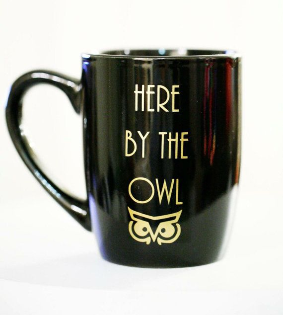 FFA Owl Coffee Mug, Here By The Owl, Advisor, Ag teacher, aggie