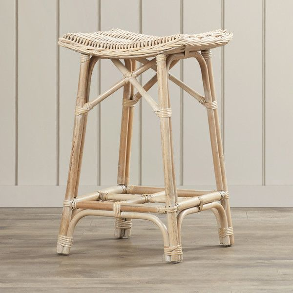 Gerome Rattan Stool - $125 - Joss + Main