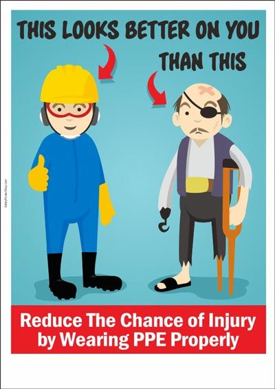Reduce The Chance of Injury by Wearing PPE Properly