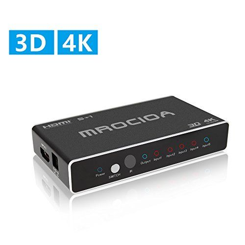 Giveaway ] MROCIOA Hdmi Switch 5 In - 1 Out 4K and 3D High