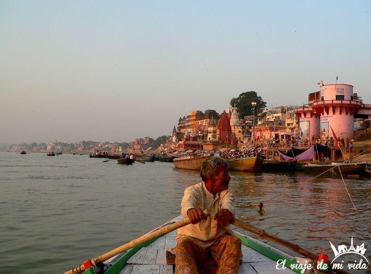 Ghats Benares India