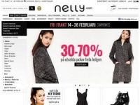 20% rabatt hos Nelly.com. Gäller tom 2014-03-01.