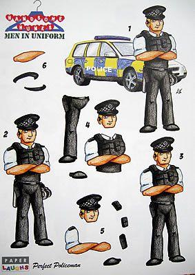 policeman decoupage - Google Search