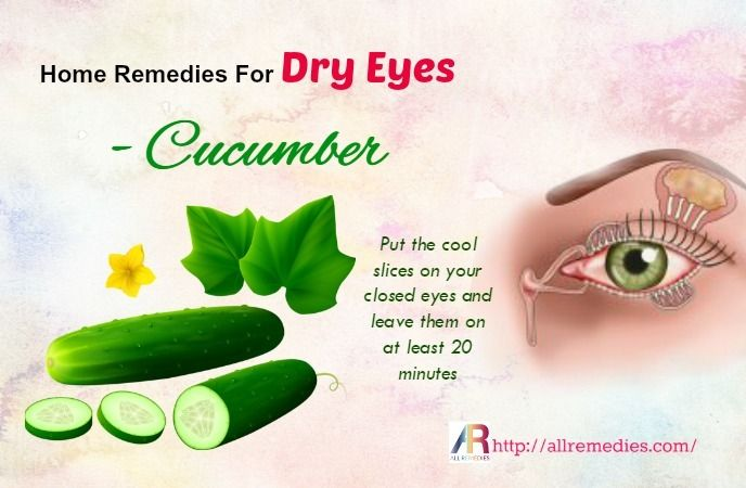 Pin by Joyce Jamerson on Home Remedies | Cucumber on eyes, Dry eyes, Home  remedies