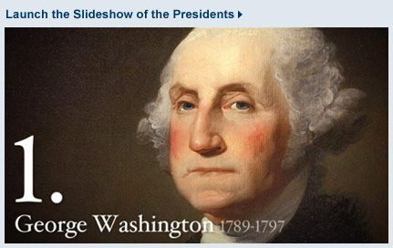 Presidents of the United States Slideshow and Biographies