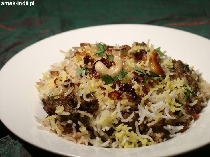 Biryani to nazwa potrawy składającej się z aromatycznego ryżu zapiekanego z mięsem, popularnej w całych Indiach. Istnieje wiele odmian biryani, wykorzystujących różne rodzaje mięsa i różne przyprawy, najczęściej spotyka się dania wykorzystujące jagnięcinę