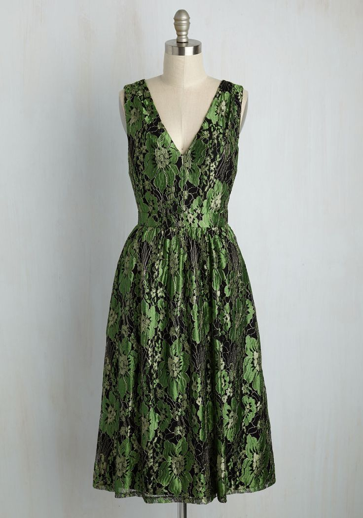 Occasion Elation Dress in Emerald. For a sophisticated wedding, a swanky office…