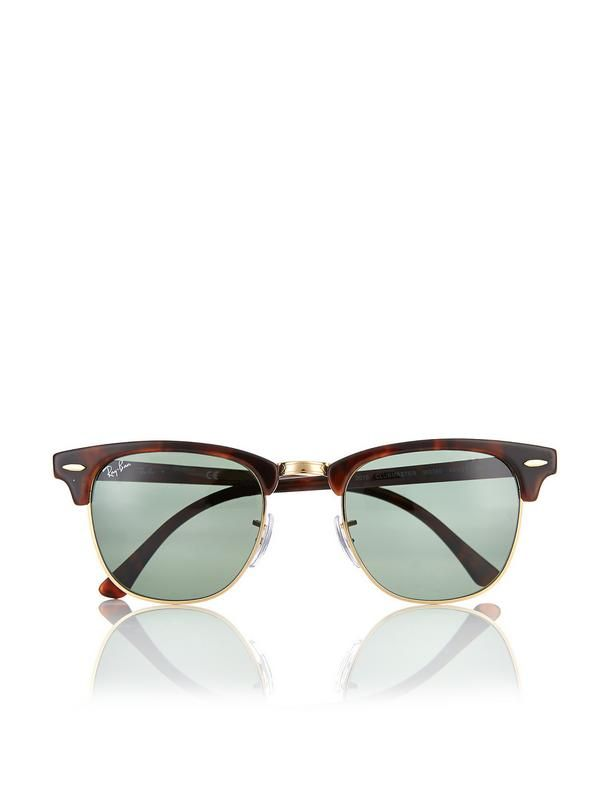 ray ban 3016 clubmaster tortoise w0366 large 51mm  1000+ idee毛n over Ray Ban Clubmaster Sunglasses op Pinterest ...