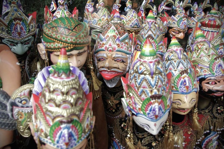 Legacies of Sundanese ancient wisdoms are passed down through the various characters of Wayang Golek, or wooden puppets.