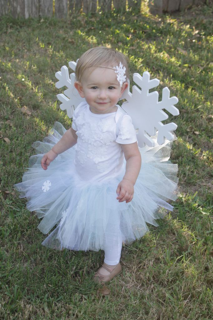 d99c9683f717 DIY Snowflake Costume Kids Costumes Girls, Baby Costumes, Cute Halloween  Costumes, Christmas Costumes