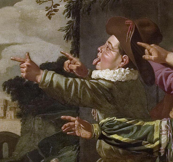 Zijl, Roeloff van -- Elisa door de kinderen bespot, 1625-1630