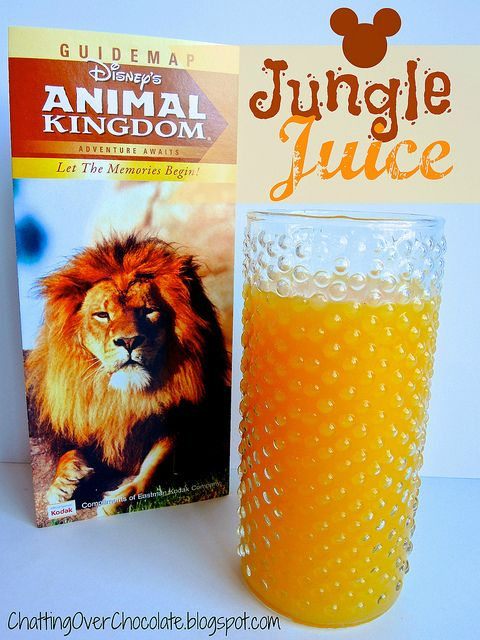 Disneys Animal Kingdom - Jungle Juice (Copycat Recipe) by ChattingOverChocolate.blogspot.com, via Flickr
